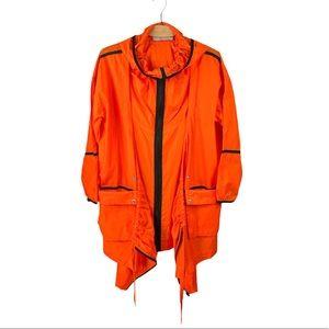 Stella McCartney x Adidas Orange Nylon Rain Parka